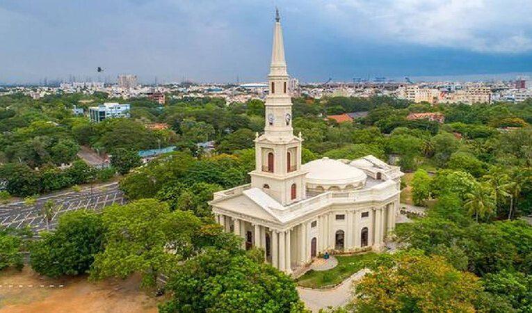 சென்னை எழும்பூரில் உள்ள புனித ஆண்ட்ரூஸ் தேவாலயத்தின் 200-வது ஆண்டு விழா – பெருமிதத்துடன் கொண்டாடப்பட்டது