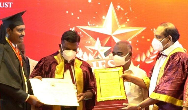 டி.சி.என் மீடியாவின் பல்வேறு சமூகப்பணிகளை அங்கீகரித்து சேவரத்னா விருது